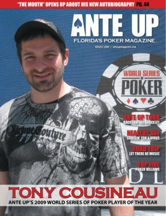 Ante Up Magazine - August 2009 Issue