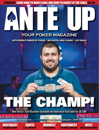 Ante Up Magazine - August 2017 Issue