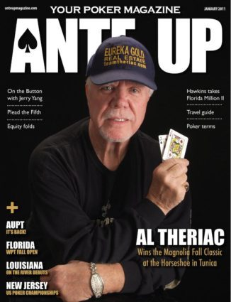Ante Up Magazine - January 2011 issue