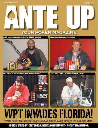 Ante Up Magazine - January 2012 Issue