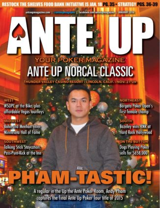 Ante Up Magazine - January 2016 Issue