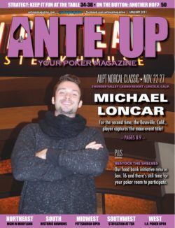 Ante Up Magazine - January 2017 Issue