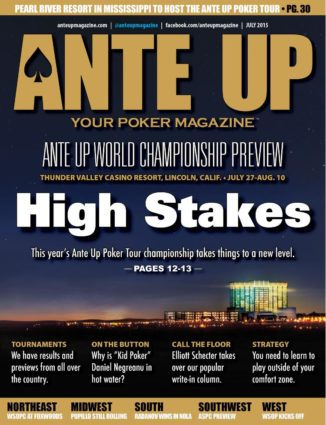 Ante Up Magazine - July 2015 Issue