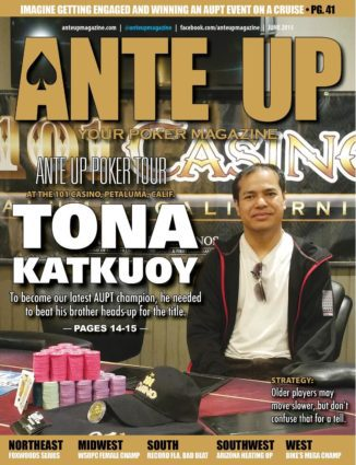 Ante Up Magazine - June 2015 Issue