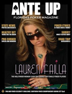 Ante Up Magazine - March 2009