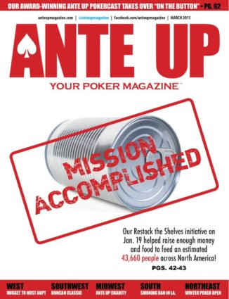 Ante Up Magazine - March 2015 Issue
