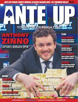 Ante Up Magazine - November 2013 Issue