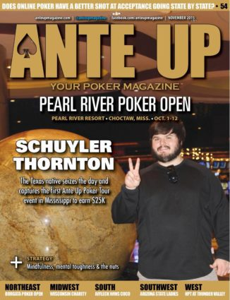 Ante Up Magazine - November 2015 Issue