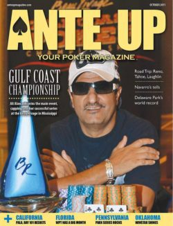 Ante Up Magazine - October 2011 Issue
