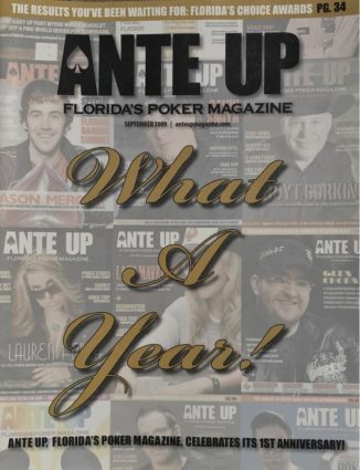 Ante Up Magazine - September 2009 Issue