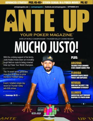 Ante Up Magazine - September 2014 Issue
