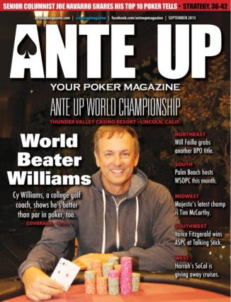 Ante Up Magazine - September 2015 Issue