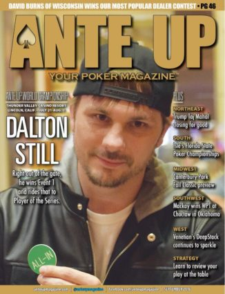 Ante Up Magazine - September 2016 Issue