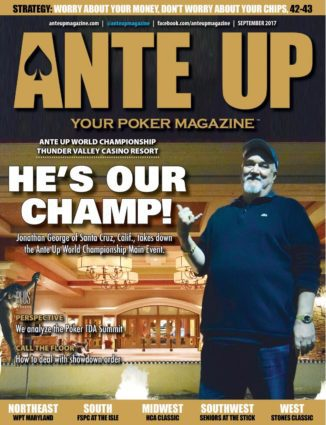 Ante Up Magazine - September 2017 Issue