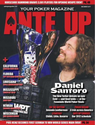 Ante Up Magazine - December 2011