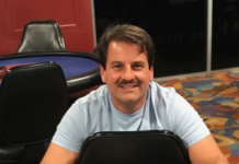 Vinny Griffo wins Event #5 of the Ante Up Poker Tour at Tampa Bay Downs