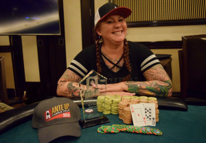 Charisse Case wins Event #13 of the Ante Up Poker Tour at Atlantis