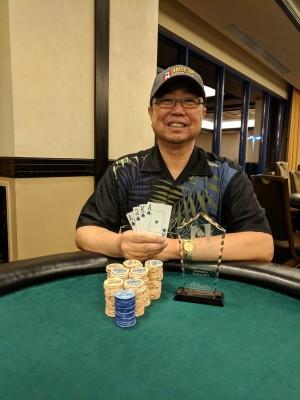 Darryl Okamoto wins Event #4 of Ante Up Poker Tour at Atlantis