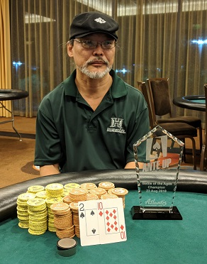 Glenn Ughibori wins Event #14 of Ante Up Poker Tour at Atlantis