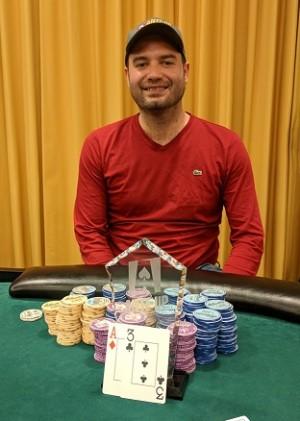 Joseph Crawley wins Event #16 of Ante Up Poker Tour at Atlantis