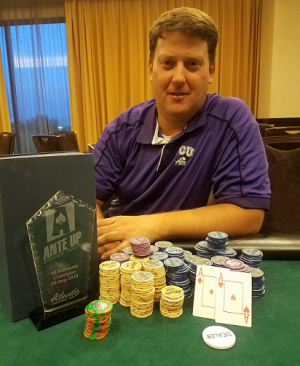 Kenton Payne wins Event #17 of the Ante Up Poker Tour at Atlantis