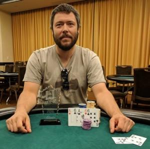 Loren Klein wins Event #12 of Ante Up Poker Tour at Atlantis