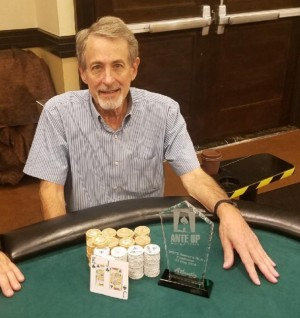 Michael Newman wins Event #9 of Ante Up Poker Tour at Atlantis