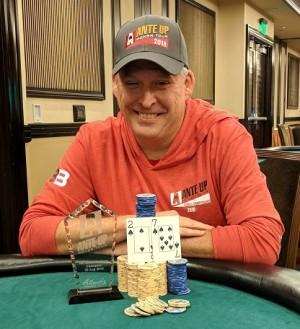 Scott Long wins Event #10 of the Ante Up Poker Tour at Atlantis