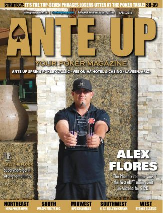 Ante Up Magazine - April 2018