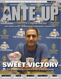 Ante Up Magazine - August 2018