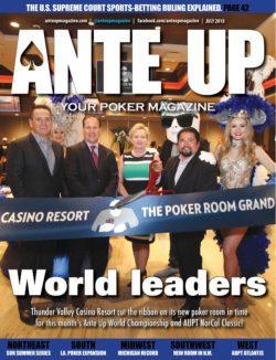 Ante Up Magazine - July 2018