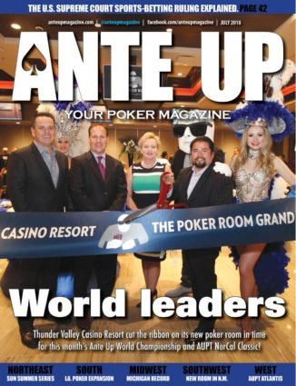 Ante Up Magazine - July 2018