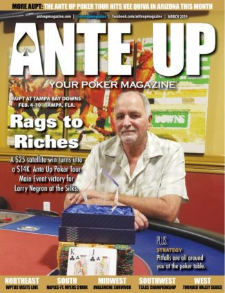 Ante Up Magazine - March 2019