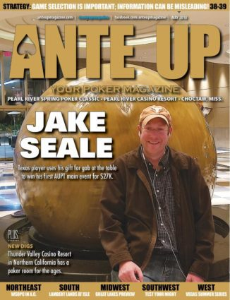 Ante Up Magazine - May 2018