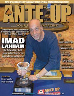 Ante Up Magazine - September 2018