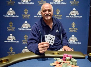 Al Sanchez is Player of the Series at Ante Up World Championship
