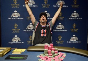 Ante Up Magazine Kameron Petsche win Event #19 of the Ante Up World Championship