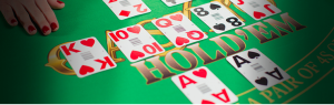 Ante Up Players Take to Live Casino Hold'em Online