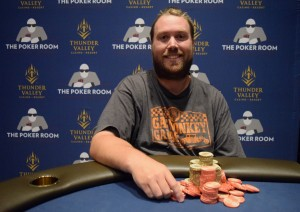 Brendon Thomson wins Event #24 of the Ante Up World Championship