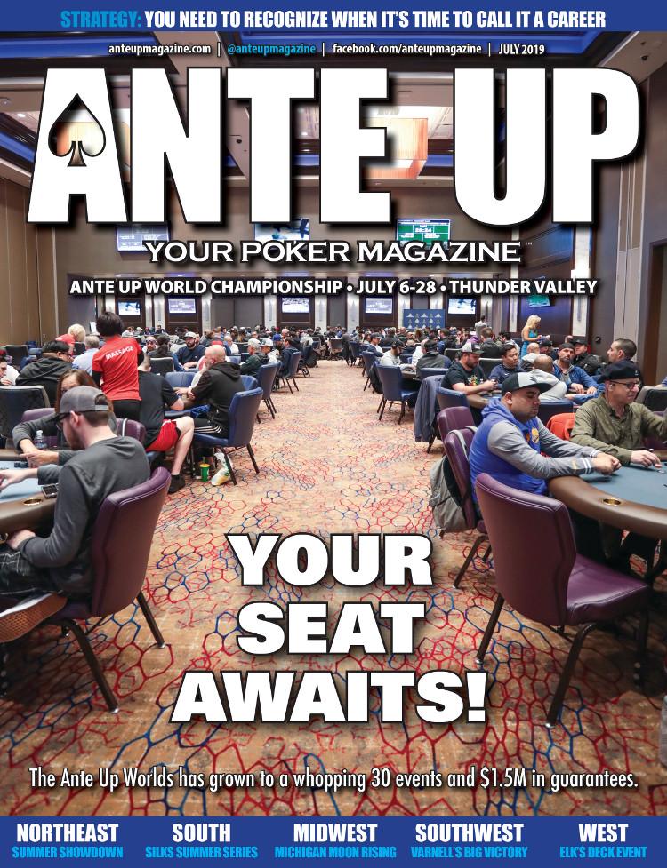 Ante Up Magazine - July 2019