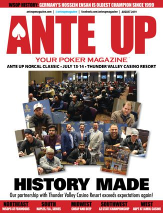 Ante Up Magazine - August 2019