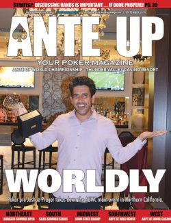 Ante Up Poker Magazine, September 2019