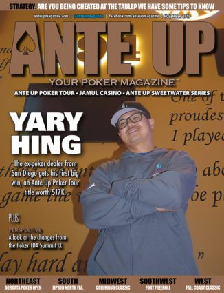 Ante Up Poker Magazine November 2019