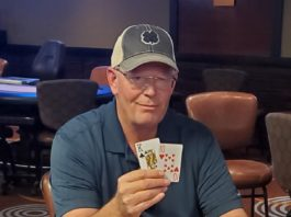 Ken Sumner, champion of Ante Up Winter Poker Classic Main Event