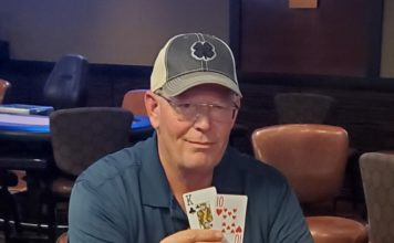Ken Sumner, champion of Ante Up Winter Poker Classic Main Event