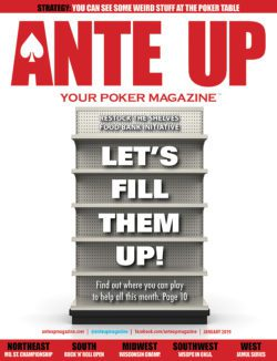 Ante Up Poker Magazine January 2020 issue